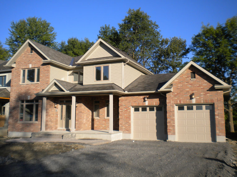 The Clarington Cedarstone Homes