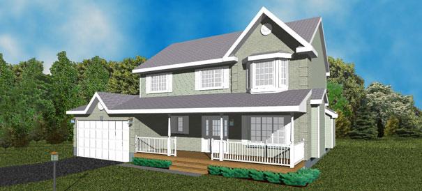 The Hastings Cedarstone Homes